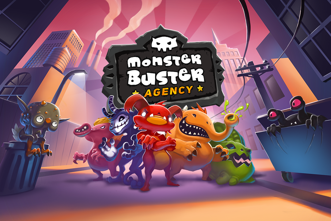Monster Buster Agency announcement