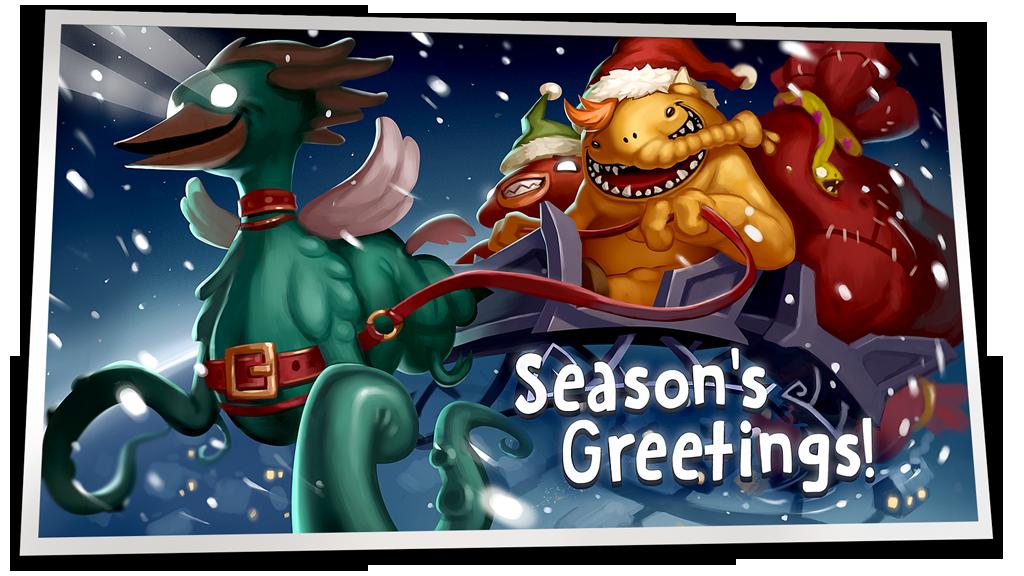 Monster Buster Christmas Greetings